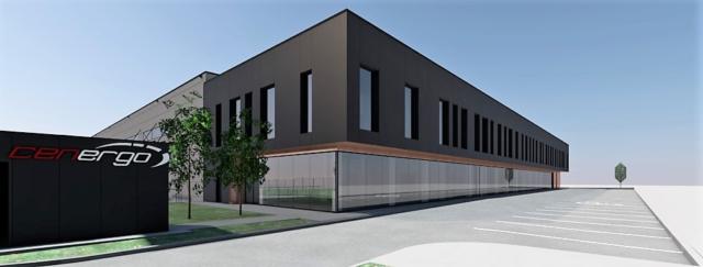 Centrum Logistyczne – Wizualizacje